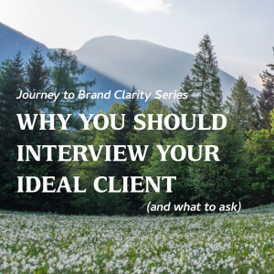 Why You Should Interview Your Ideal Client (and What to Ask)