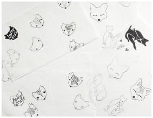 Baby Fox & Co Case Study Logo Sketches