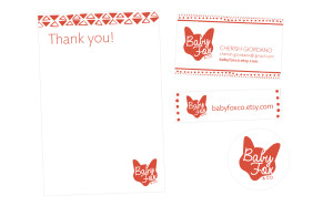 Baby Fox & Co Case Study Print Design