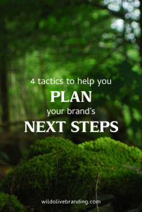 4 Tactics to Help you Plan your Brand's Next Steps
