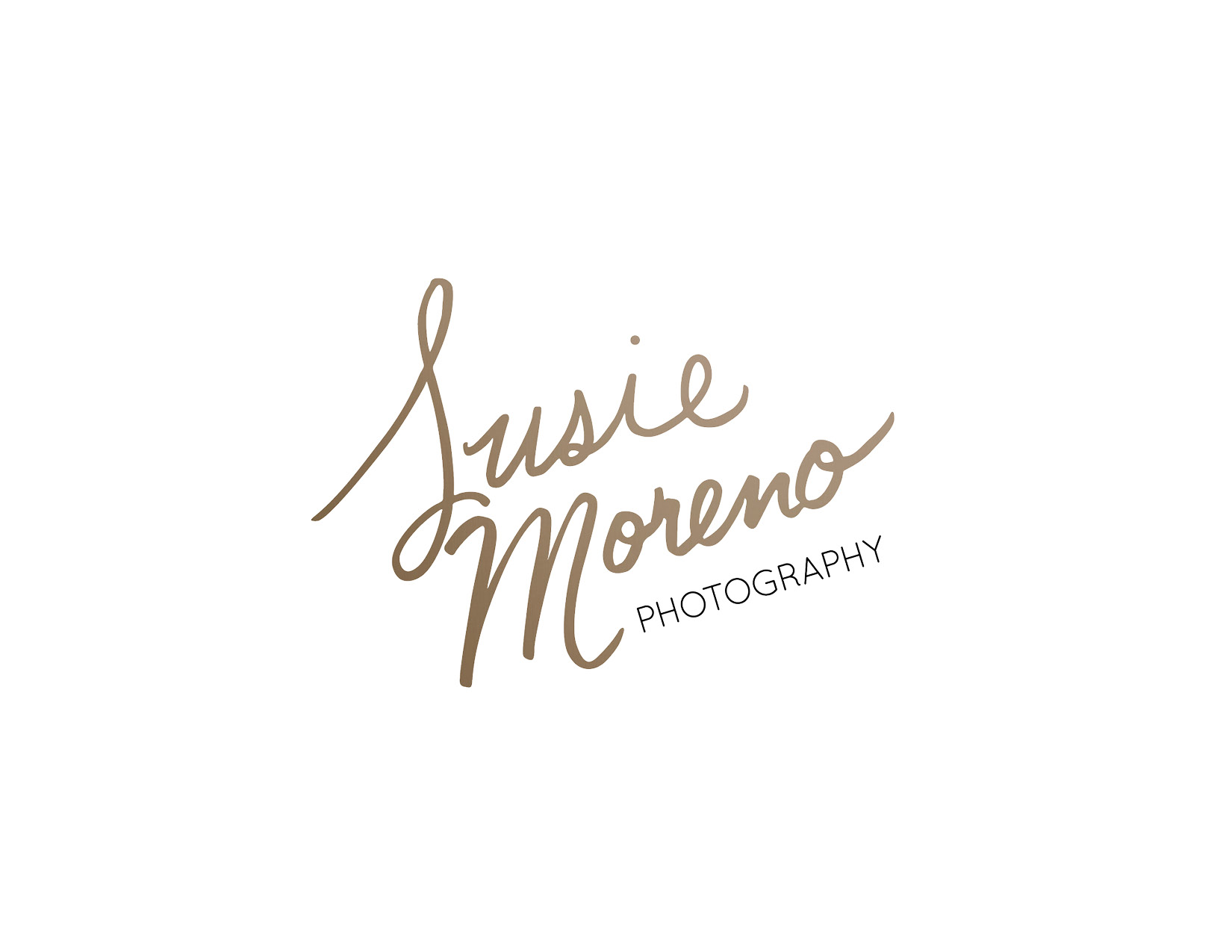 Susie Moreno Photography Case Study Logo