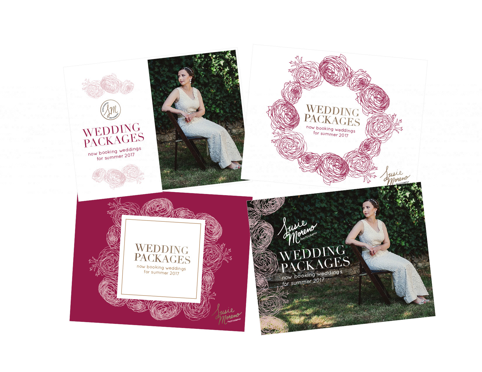 Susie Moreno Photography Case Study Layout Samples