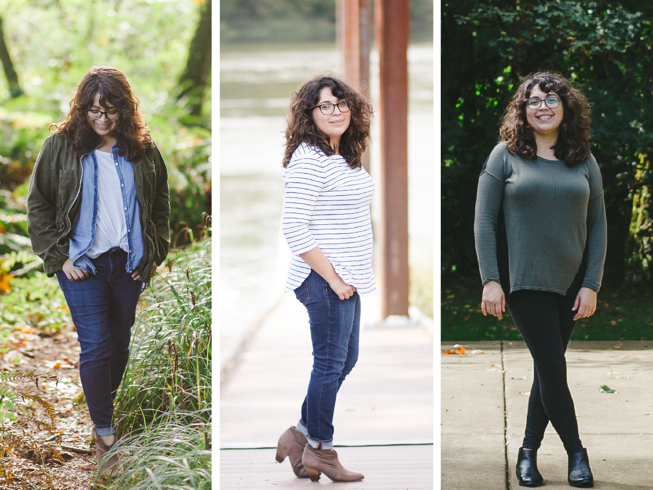 Casual Outfit Headshots