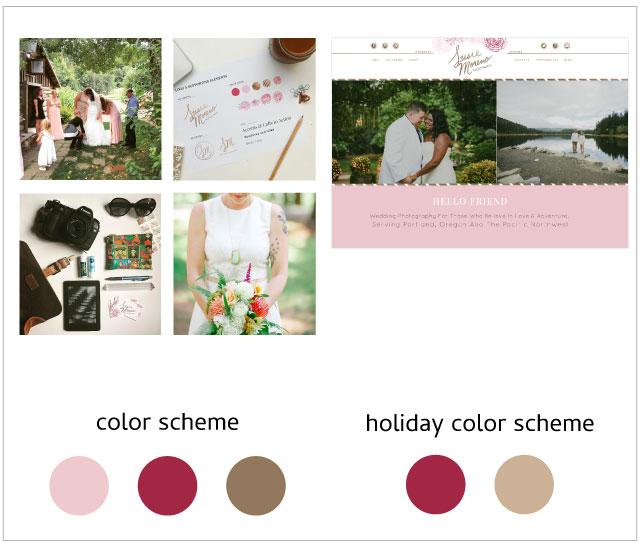 Susie Moreno Holiday Color Scheme