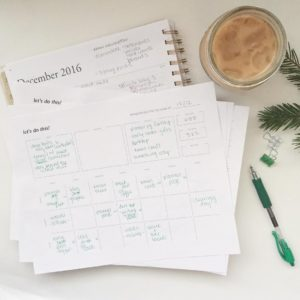 Free Instagram Planner Page