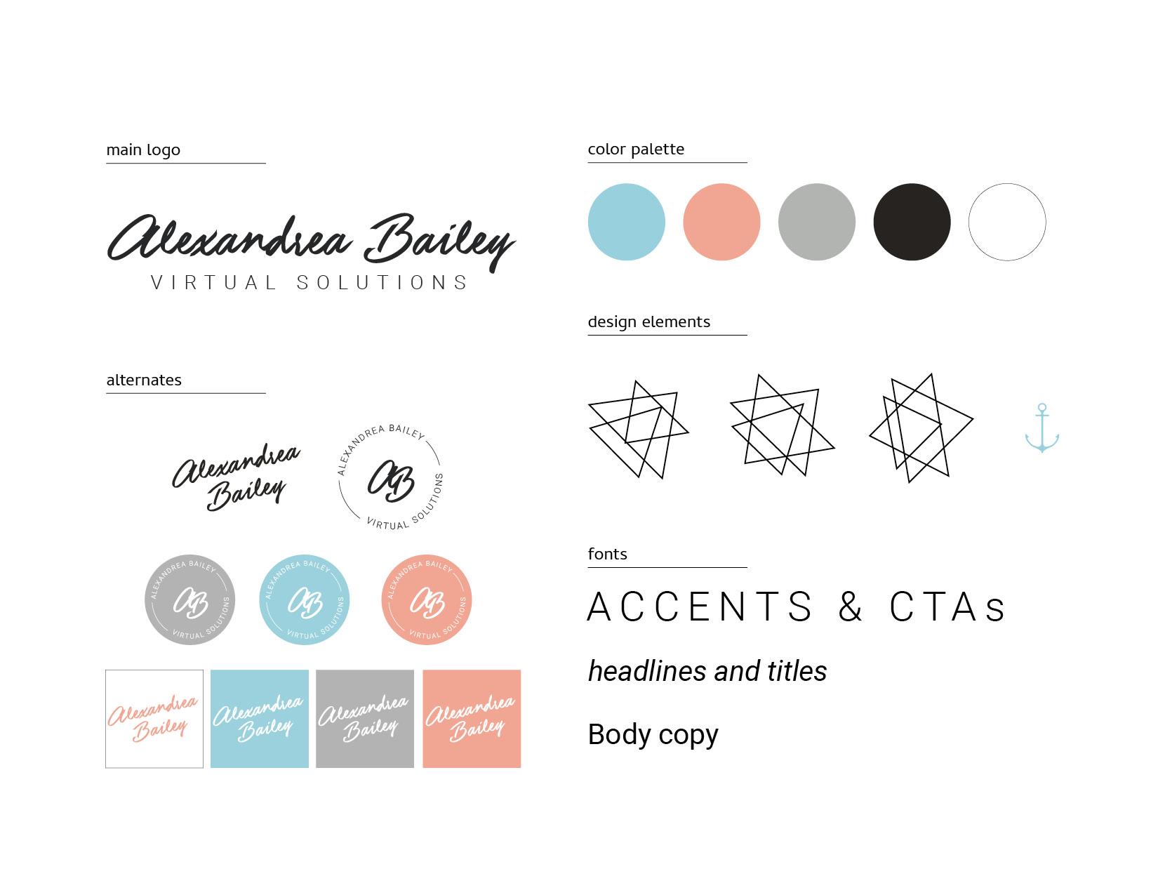Alexandrea Bailey Design Elements