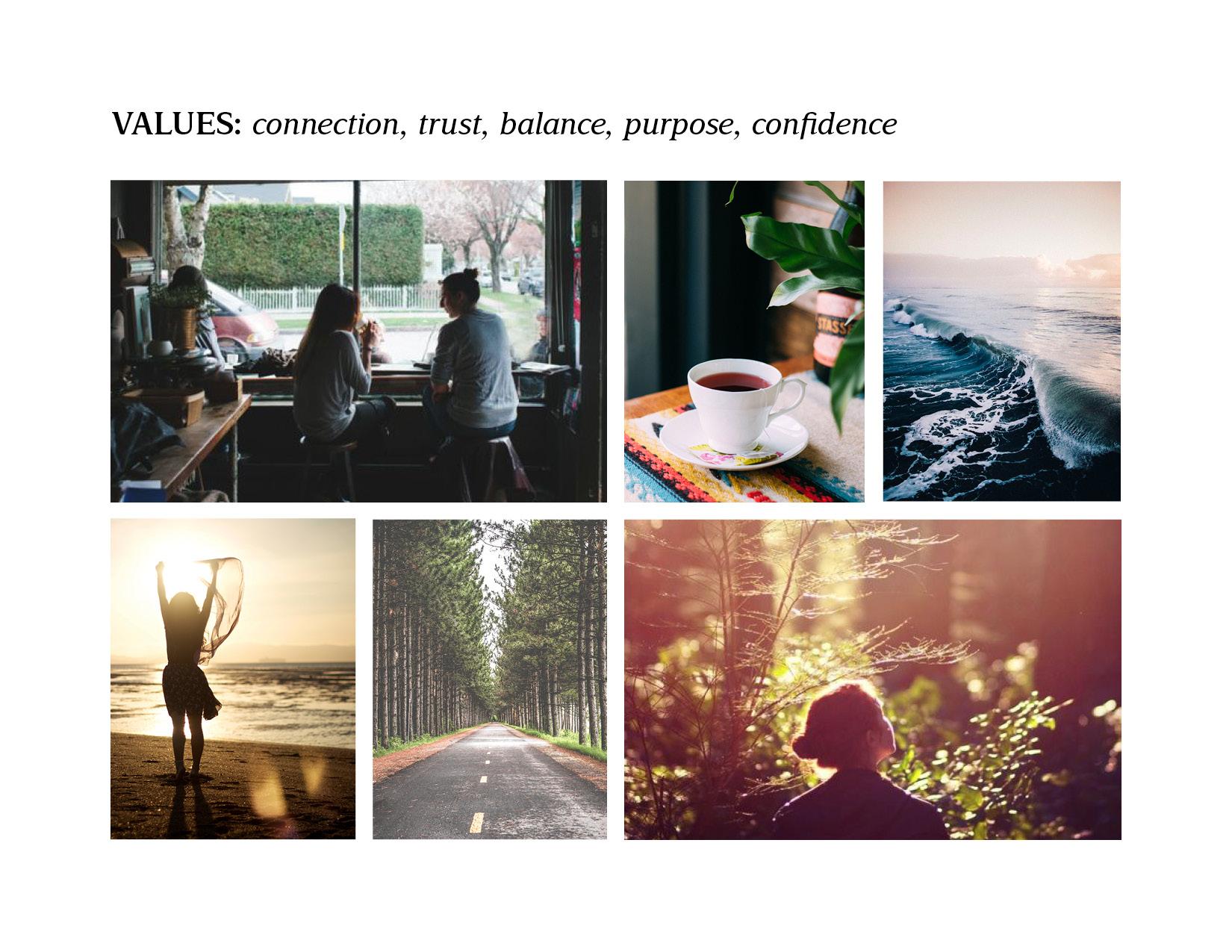 Alexandrea Bailey Values Board