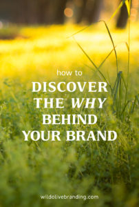 How to Discover the Why Behind your Brand