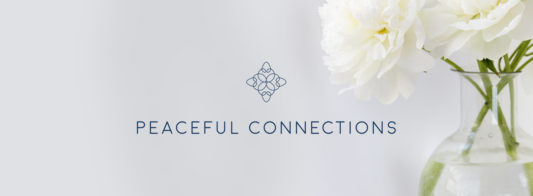 massage therapy branding: Peaceful Connections Branding Case Study