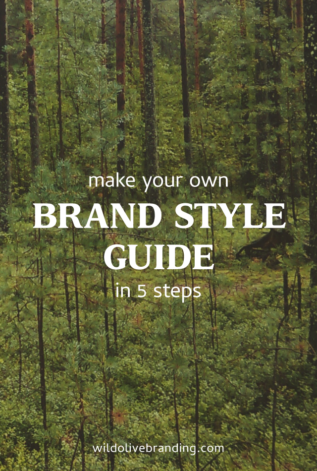 Make your Own Brand Style Guide in 5 Steps