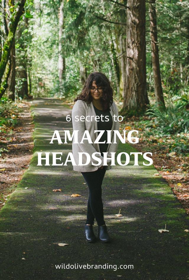 6 Secrets to Amazing Headshots