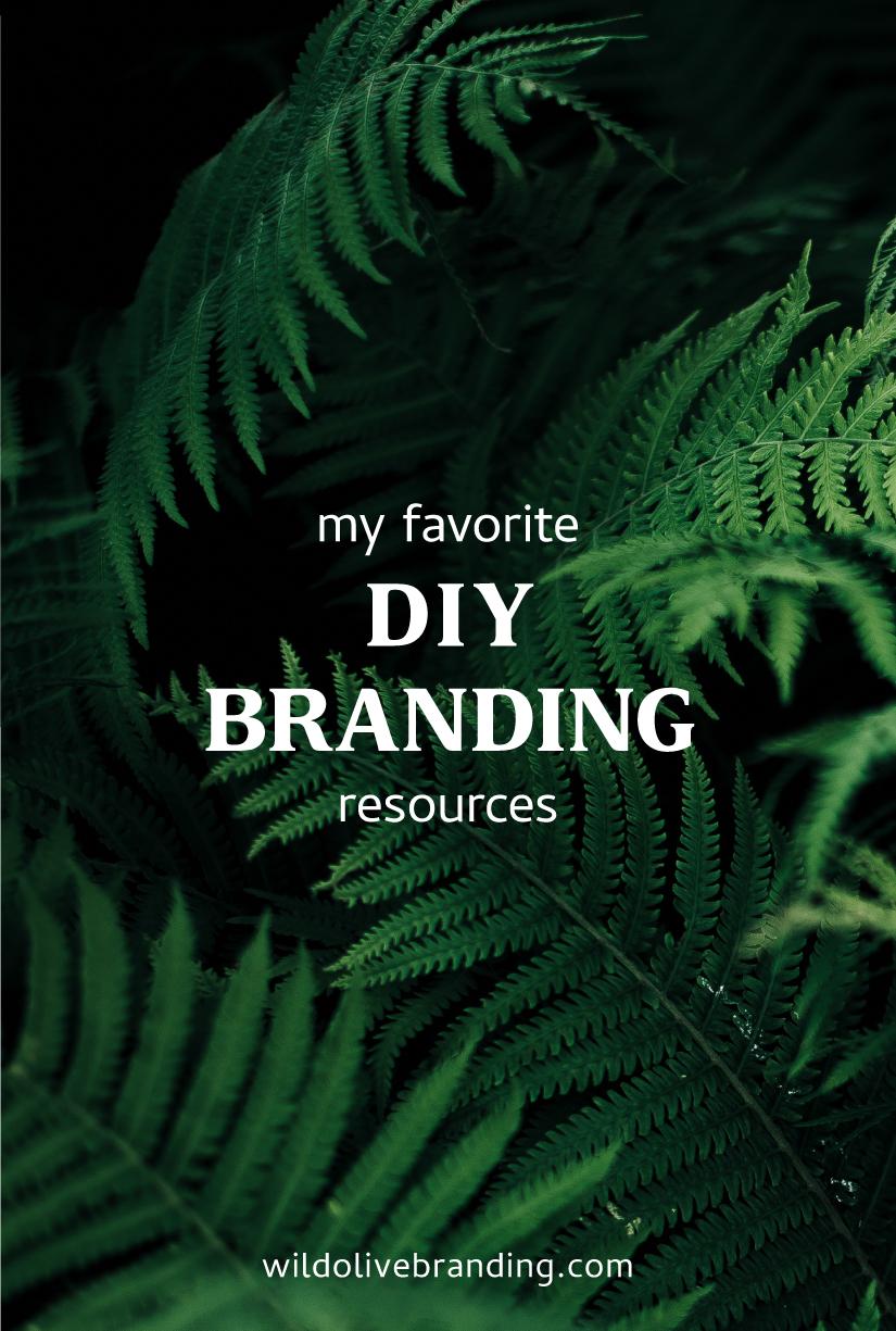 My Favorite DIY Branding Resources