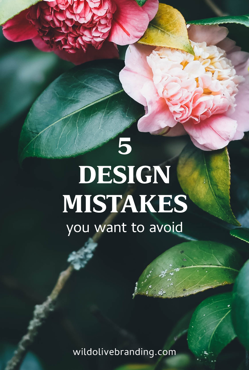 5 Design Mistakes you want to avoid